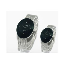 Imported RADO Esenza Silver And Black Couple Watch