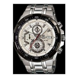 100% Authentic Casio Edifice EFR-539D-7A Stainless Steel Silver Grey Men's Watch