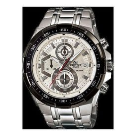 100% Authentic Casio Edifice EFR-539D-7A Stainless Steel Silver Grey Men s Watch
