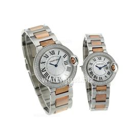 Imported Cartier Ballon Blue de Cartier Automatic Couple Watch