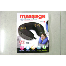 Travel Neck Massage Pillow With Music Mp3 Ready In Multicolor