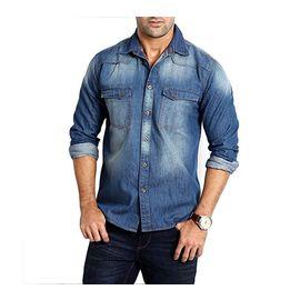 Export Surplus Branded Denim Shirt, s