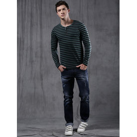 Combo of Export Surplus Branded Denim Jeans And T- Shirt, 28, m