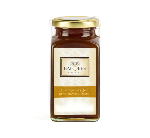 Raw Honey and Ginger, 290 g