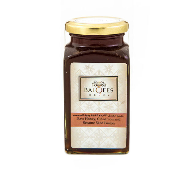Raw Honey, Cinnamon and Sesame Seed Fusion, 290 g