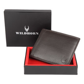 WILDHORN NEW HIGH QUALITY GENUINE MEN' S LEATHER WALLET…