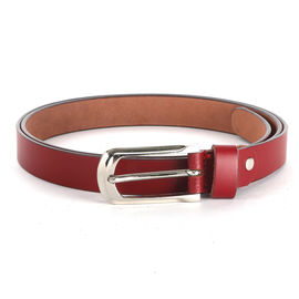 WILDHORN NEW RED HIGH QUALITY GENUINE WOMEN' S LEATHER BELT, 177-36, 38