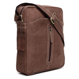 WildHorn Brown 100% Genuine Leather Messenger Bag