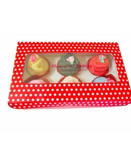 Mums 'n' Babies Cupcake Socks Set, 0-3 months
