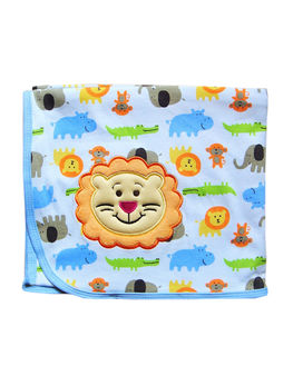 Cute Lion Patchwork Baby Wrap