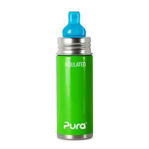 INSULATED PURA Stainless Steel Sipper, green