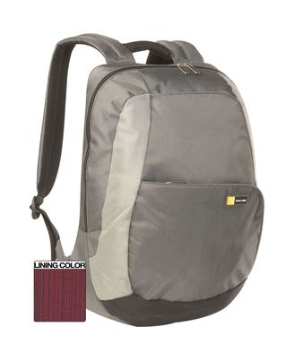 Case Logic Tkb-15Silver 15.4-Inch Premium Laptop Backpack (Silver)