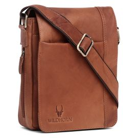 WildHorn New Hi-Quality 100% Genuine Leather Sling Messenger Bag DIMENTION: L-8.5INCH W-3INCH H-10.5INCH