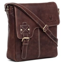 WildHorn New Hi-Quality 100% Genuine Leather Sling Messenger Bag DIMENTION: L-10INCH W-3INCH H-11INCH