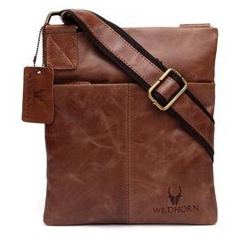 WildHorn New Hi-Quality 100% Genuine Leather Messenger Bag DIMENSION: L- 8.5inch H- 10inch W- 0.5inch