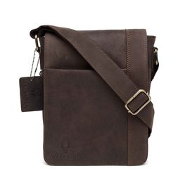 WildHorn Leather Messenger Bag DIMENSION: L- 8.5Inch H- 10.5inch W- 3inch