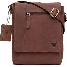 WildHorn Leather Messenger Bag 205 DIMENSION: L- 8.5inch H- 10.5inch W- 3inch