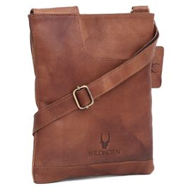 WildHorn 100% Genuine Leather Messenger Bag DIMENTION DIMENSION: L- 8.9inch H- 0.5Inch W- 10.3inch