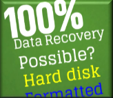 100% Data Recovery Possible?