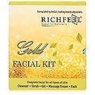RICHFEEL Gold facial Kit, 1 kit