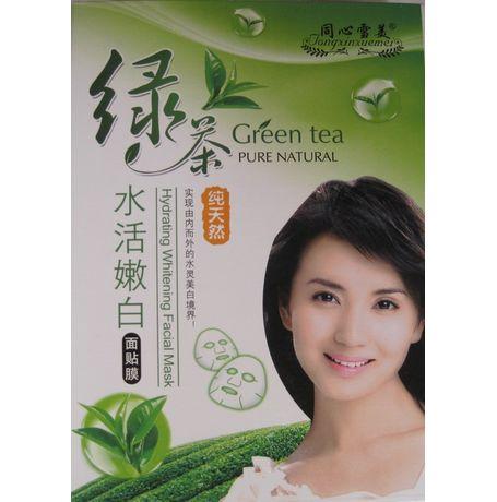GreenTea-Hydrating Whitening Facial Mask - JKCOS-GT-HWFM-2800
