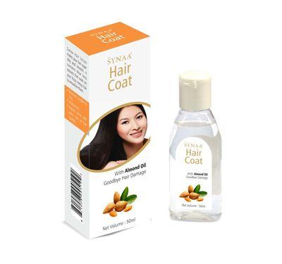 Synaa Hair Coat| Hair Serum with Almond Oil (50ml)