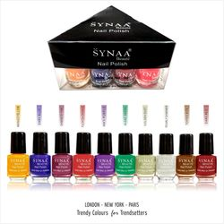 Synaa Nail Polish Set of 10 Pieces - Multicolor Set# 2 (240g)