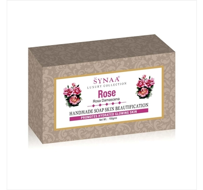 Synaa Rose Handmade Soap (100g)