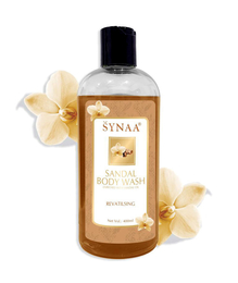 Synaa Sandal Body wash - Skin Revitalising with Natural Fragnance for Skin