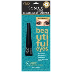Synaa Excellence Dip Eyeliner - Rich Black (2.5ml)
