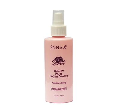 Synaa Rose Water - Premium Natural Skin Toner (215ml)