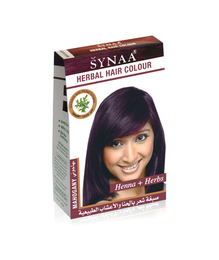 Synaa Herbal Hair Color Mahogany, Henna+ Herbs - No PPD (80g)