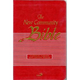 New Community Bible ( Red)