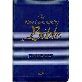 New Community Bible ( Blue Zipper)