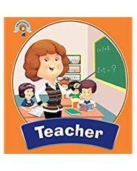 Professions square book teache