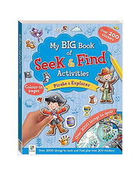 My Big Book Of Seek & Find Activities Pirate & Explorer