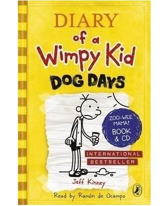 Diary of a wimpy kiddog gift