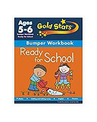 Gold Stars Ready For School Bumper Workbook Ages 5- 6