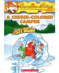 Geronimo Stilton# 16 A Cheese- Colored Camper