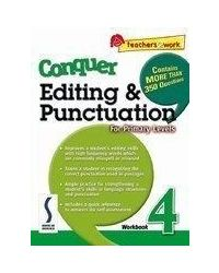 Conquer Editing & Punctuation Work Book 4