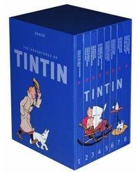 Complete Adventures Of Tintin 3in1 Box Set ( 8 Volume Set)