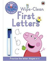 Peppa Pig: Practise with Peppa Wipe- Clean First Letters
