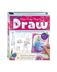 More Funky Things To Draw By See Product Page (2011) Spiral- Bound