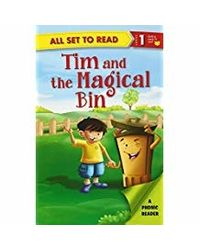 All Set To Read A Phonics Reader Tim And The Magical Bin