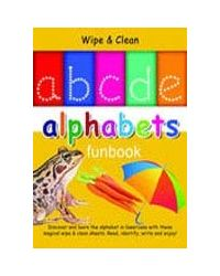 ABCDE Alphabet Funbook Wipe & Clean