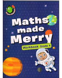 Maths Made Merry Workbook Grade- 4