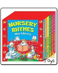 Party Bags 2 Go Nursery Rhymes Mini Library Pack Of 6 Mini Board Books Normal