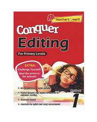 Sap Conquer Editing For Primary Levels Workbook 1