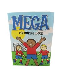 Mega colouring book.