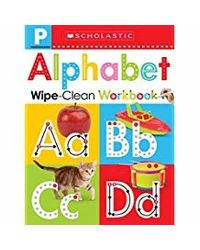 Scholastic Early Learners Wipe Clean Workbooks: Pre- K: Alphabet